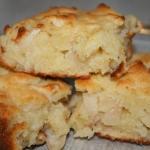 пирог шарлотка