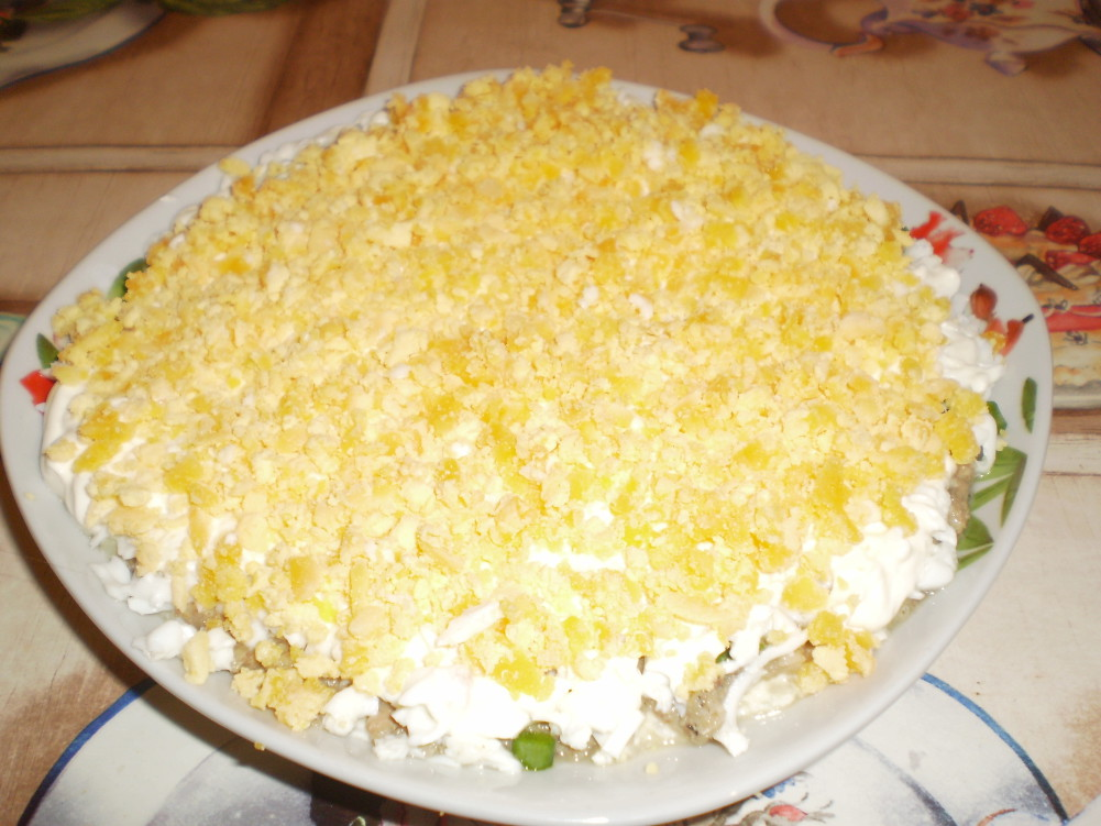 салат мимоза фото