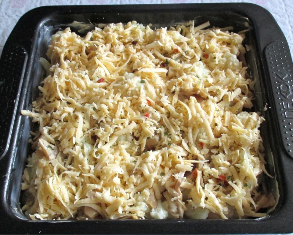 Цветная капуста в пошаговый рецепт с в духовке