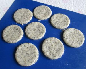 постное песочное печенье, фото