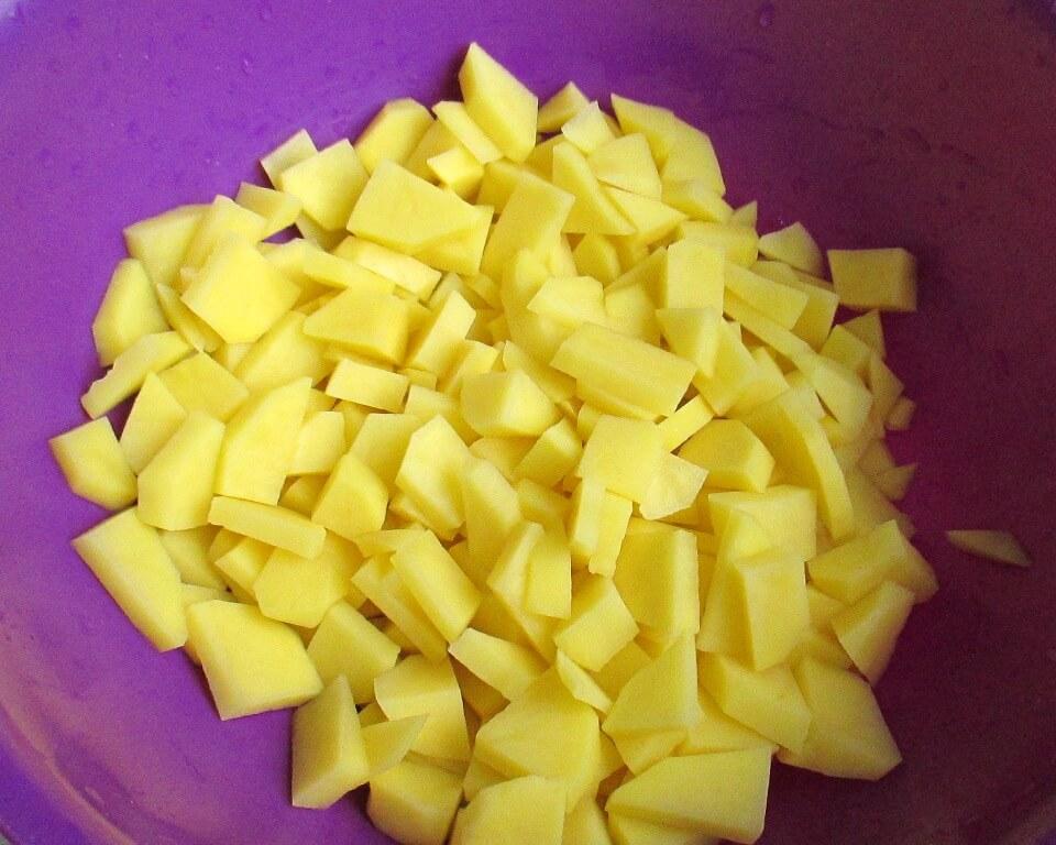 картофель нарезанный фото