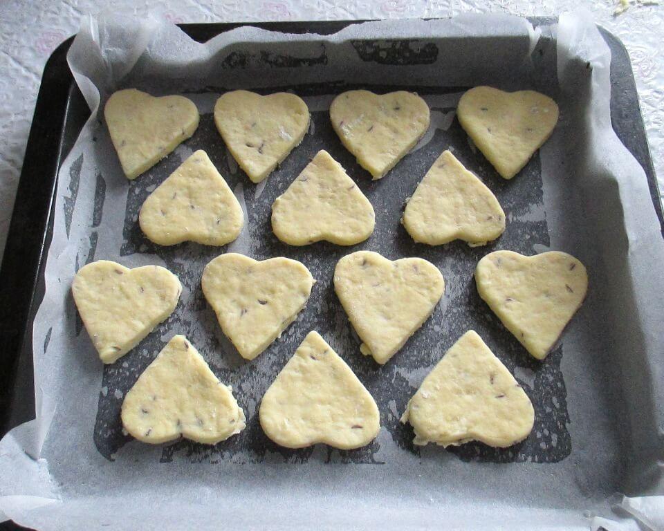 фото тесто для выпечки несладкого печенья