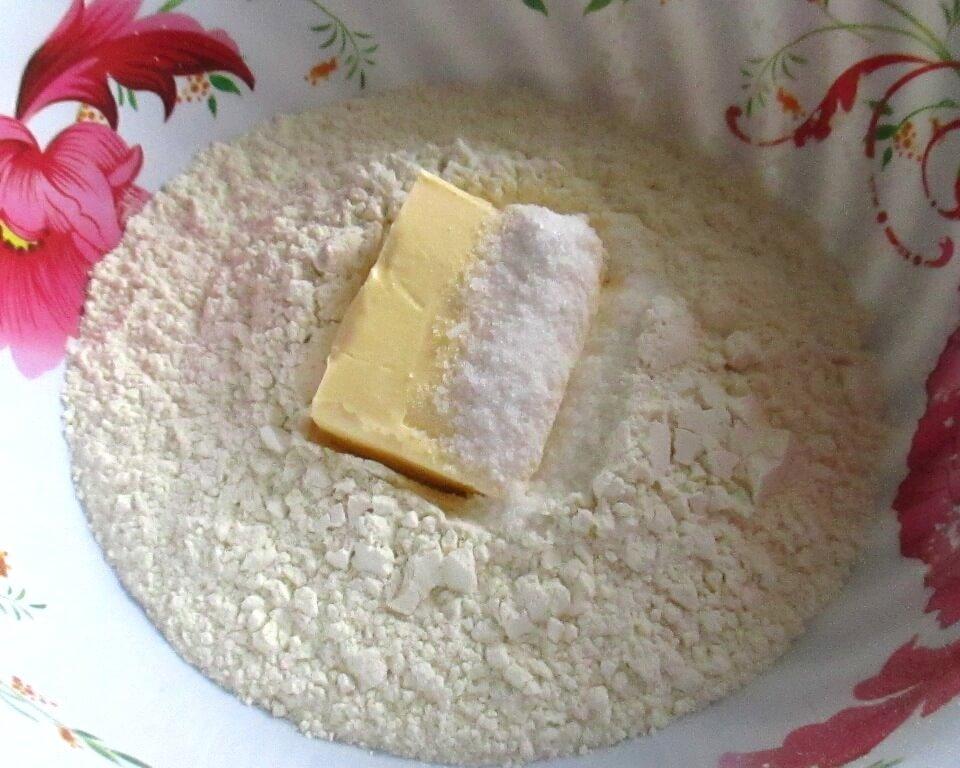 фото как приготовить тесто для печенья