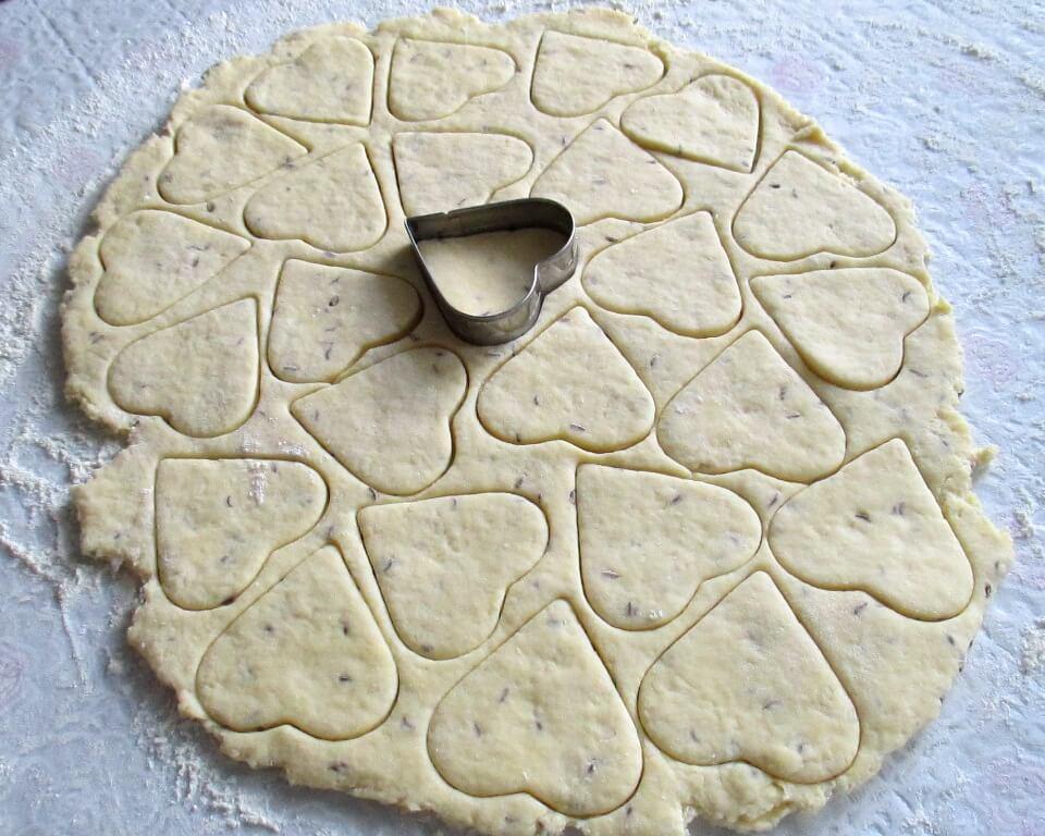 фото тесто для сухого несладкого печенья