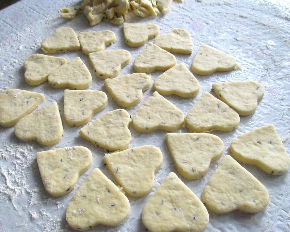 фото тесто для выпечки сухого печенья