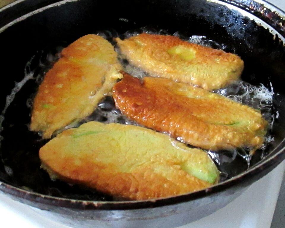 фото кабачки в кляре на сковороде,