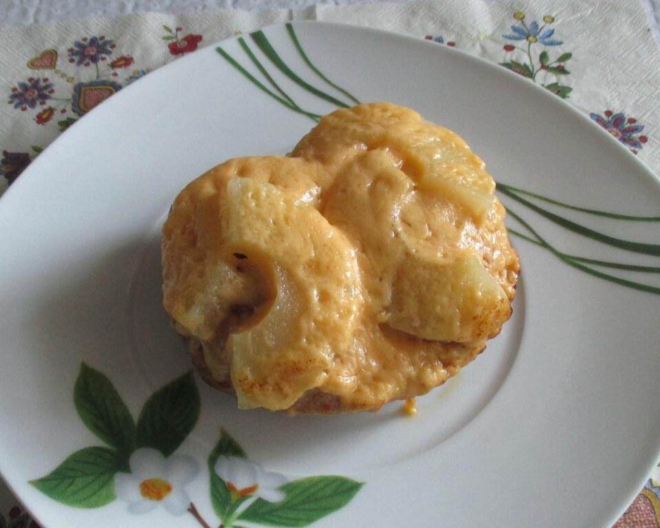 куриная грудка с ананасами и сыром фото,