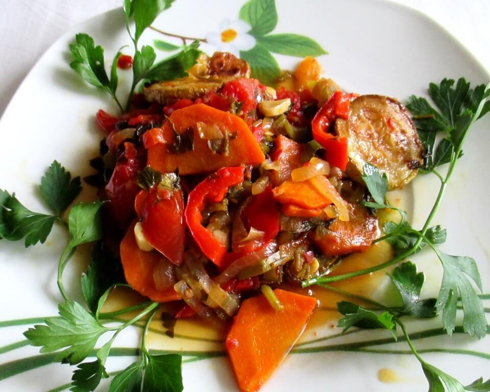 соте из овощей фото, соте с кабачками фото