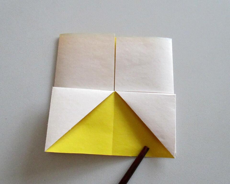 как сделать из бумаги рыбку, фото,поделки из бумаги, оригами