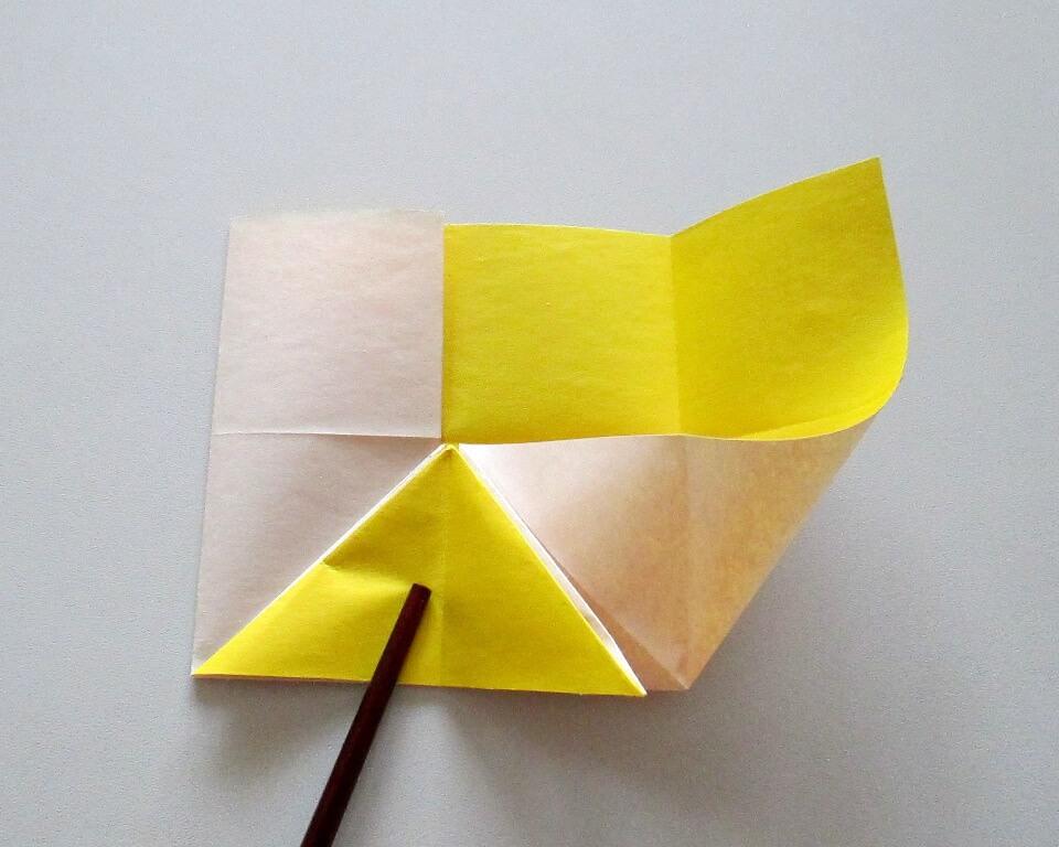 как сделать рыбку из цветной бумаги поделка из бумаги