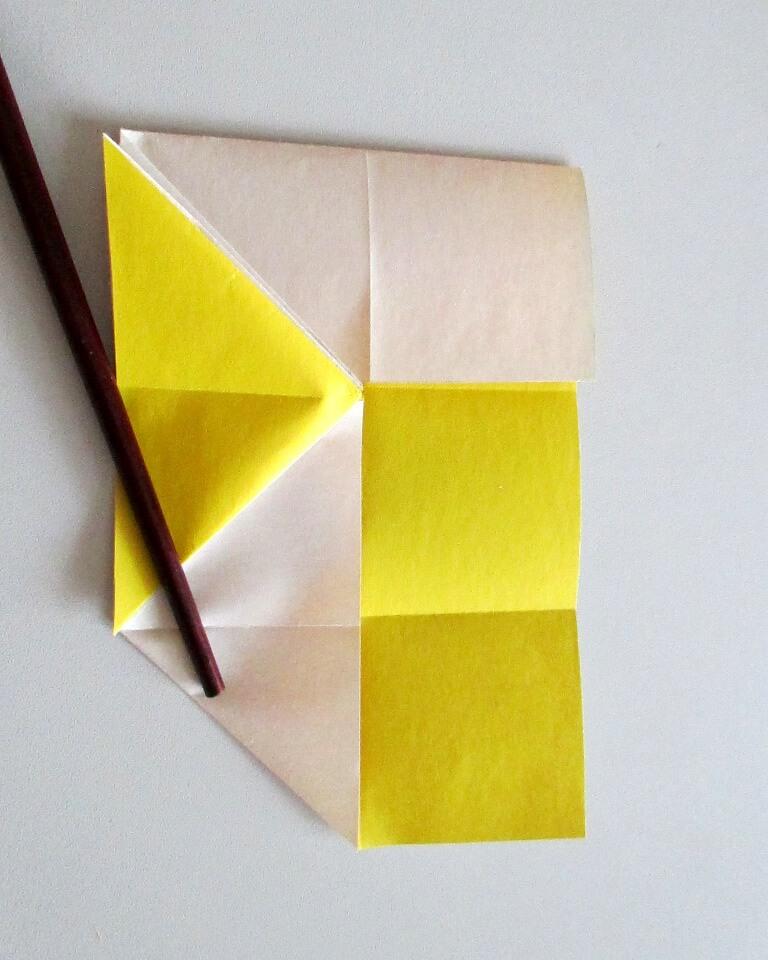 как сделать рыбку из цветной бумаги поделка из цветной бумаги