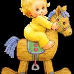 ребенок на лошадке