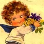 рисунок ребенок-водолей