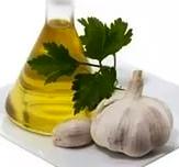 чеснок, растительное масло, фото