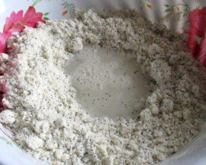 как приготовить песочное тесто для печенья с маком, фото