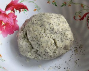фото как приготовить песочное тесто для печенья с маком