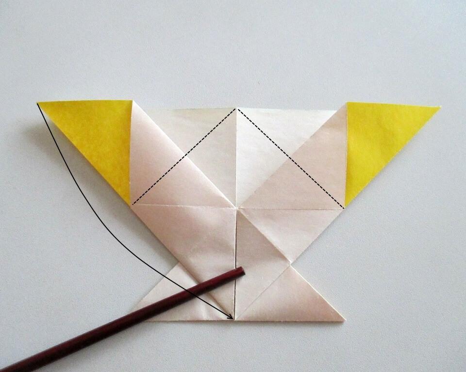 как сделать рыбку из цветной бумаги поделка из бумаги, Как сделать картину для подарка, фото
