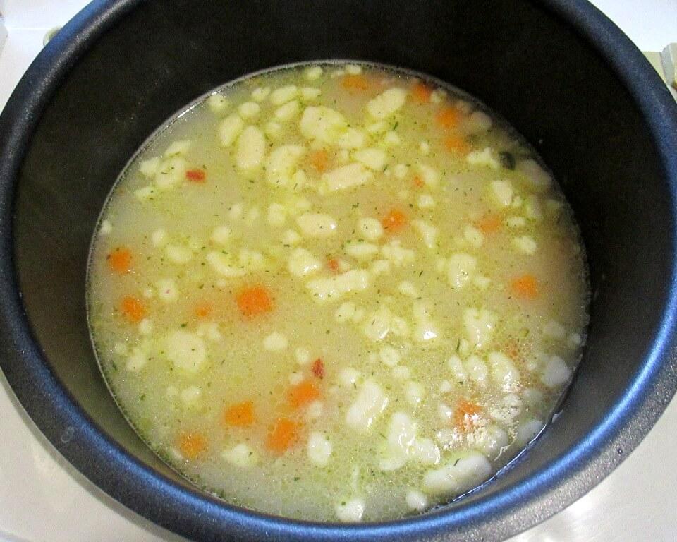 картофельный суп с сыром рецепт с фото
